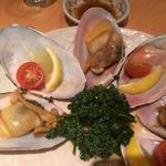 万 寿 貝 の 醤 油 バ タ ー 焼 き -能登千里浜-