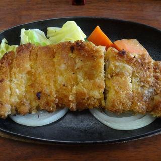 豚ロース 焼きかつ定食(きらく 伝馬町店 )