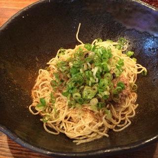 汁なし担担麺1辛(キング軒 東京店 )