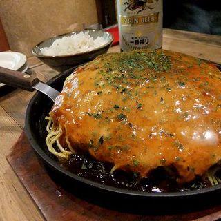 肉玉そばダブル(きんさい屋 博多駅前三井新ビル店)