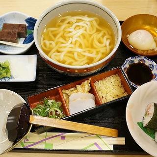 うどん定食(くすのき (kusunoki))