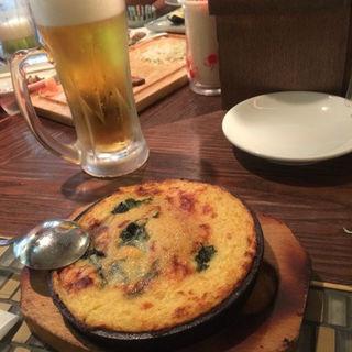 蟹味噌チーズとろろ焼き(グリル異人館 )