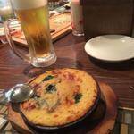 蟹味噌チーズとろろ焼き