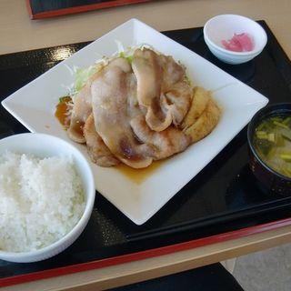 生姜焼き定食(クローバーダイニング (CLOVER DINING))