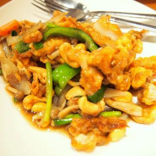鳥肉とカシュナッツの炒め物(クンテープ 道頓堀店 (krungtep))