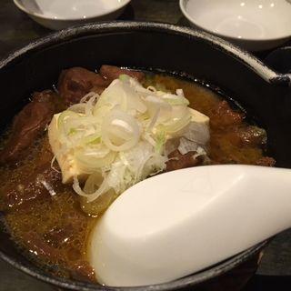 モツ豆腐(ゴールデンもつ)