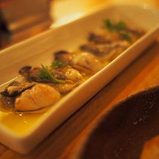 広島産牡蠣のコンフィ(ゴウ スタンド (GOU STAND))