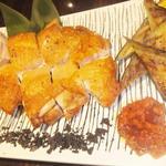 阿波尾鶏一枚焼き