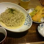 ランチの天ぷらセット