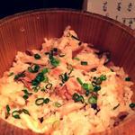 鯛とキノコの炊き込み御飯