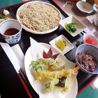 天ぷらそば定食(こぼり )