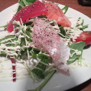海鮮カルパッチョ(ごん (GON))