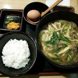 カレーうどん定食(さぬきうどん四国屋 )