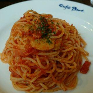 トマトソースのパスタ(カフェ・ビオ )