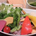 お野菜たっぷり、ベジプレート