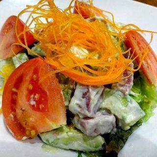 海老とアボガトサラダ(しながわ)