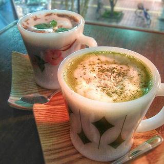 抹茶ホワイトチョコモカ(ジャムカフェ (JAM CAFE))