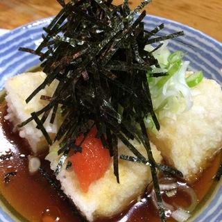 揚げ出汁豆腐(しょうじ )