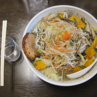 野菜たっぷりタンメン+チャーシュー