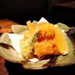 穴子とたらの芽の天ぷら