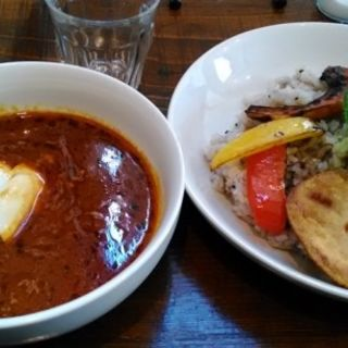 野菜のスープカレー(スープカレー&Cafe 夢)