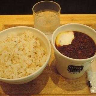 レギュラーカップセット 東京ボルシチ(Rカップ)+ご飯(スープストックトーキョー CIAL桜木町店 (Soup Stock Tokyo))