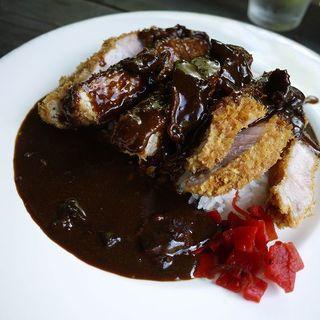 カツカレー(スイートグラス (Farm&Restaurant Sweet Grass))