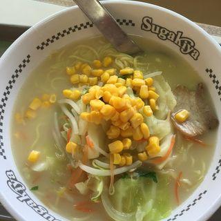 野菜ラーメン(スガキヤ シャオ西尾店 )