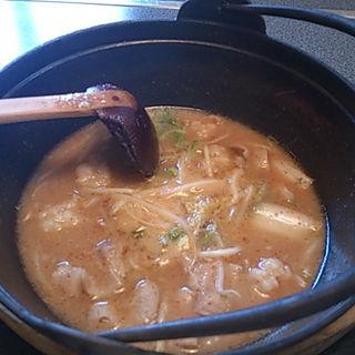 ホルモン鍋ランチ(すから )