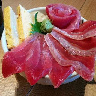 栃ナビ!限定 花まぐろ丼(すし海鮮 辰吉 )