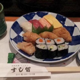 寿司盛合せ定食(すし留 )
