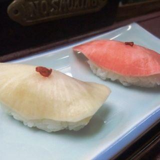 ヒラマサの蕪寿司(すし豊)