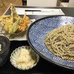 野菜天ざる(戸隠製粉)