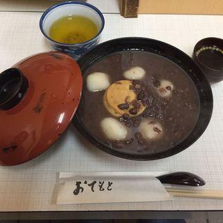 プリン白玉ぜんざい(角屋 (かどや))