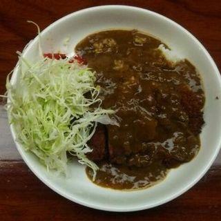 好評のカツカレー(スナック&コーヒー モルト)