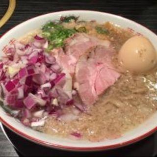 味玉煮干そば(セアブラノ神)