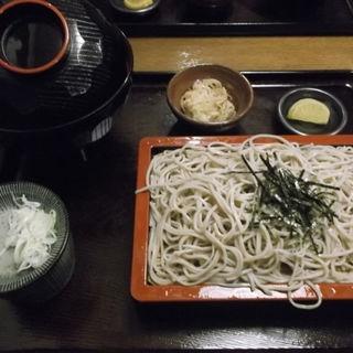 二八天丼セット(そば処 いさむ )
