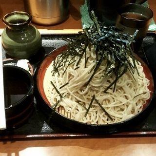 ざる蕎麦(中盛)(そば処 大番 テレビ塔本店)