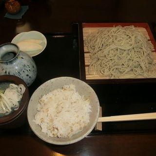 せいろ蕎麦(そば処おびひろ縹(はなだ))