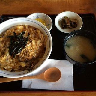 玉子丼(そば処小代)