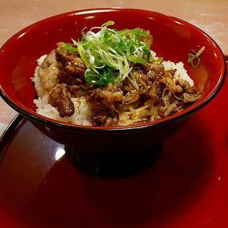 焼肉丼(ダイナック 三木サービスエリア)