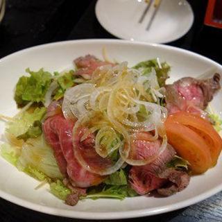ローストビーフサラダ(ダイニングgen)