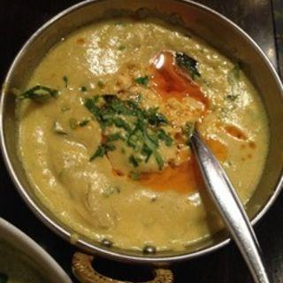 カキのクリームカレー(ダバインディア (Dhaba India))