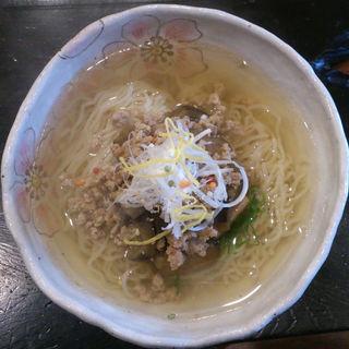 豚ひき肉となすの麺(たまゆら 東浦店 )