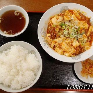 麻婆豆腐定食(タンタンメン本舗 )