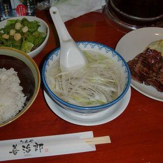 牛たん定食(たんや善治郎 牛たん通り店)