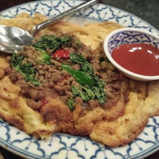ガパオの卵焼き(チャオタイ 渋谷東口店 )