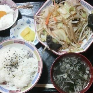 野菜炒め定食(つかさ )