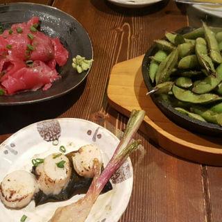 枝豆オーブン焼き(つきじ川食堂ひさ野 )