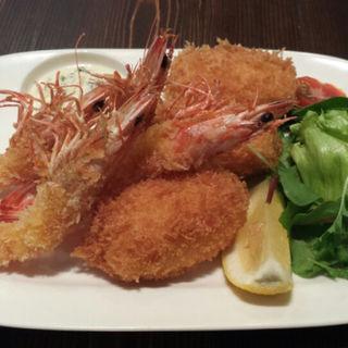 蟹クリームコロッケ(つきじ川食堂ひさ野 )